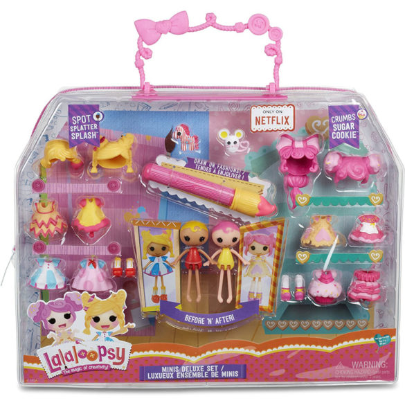 Set papusi Lalaloopsy Minis Deluxe 3