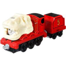 Thomas Locomotiva Metalica cu Sunete si Lumini James