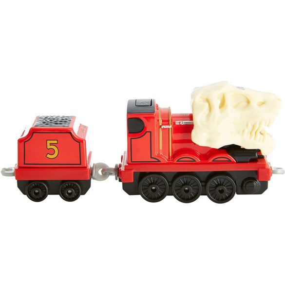 Thomas Locomotiva Metalica cu Sunete si Lumini James 2