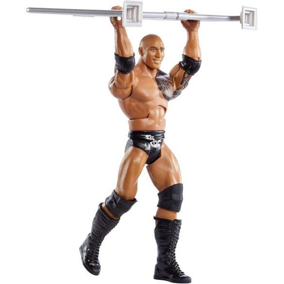 WWE Figurina The Rock Colectia Wrekkin Cu Gard 3