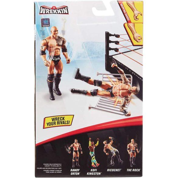 WWE Figurina The Rock Colectia Wrekkin Cu Gard 6