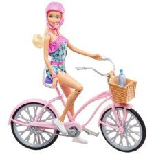 Barbie Glam Bicicleta si Papusa FTV96
