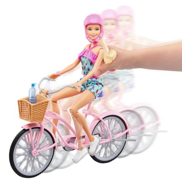 Barbie Glam Bicicleta si Papusa FTV96 5