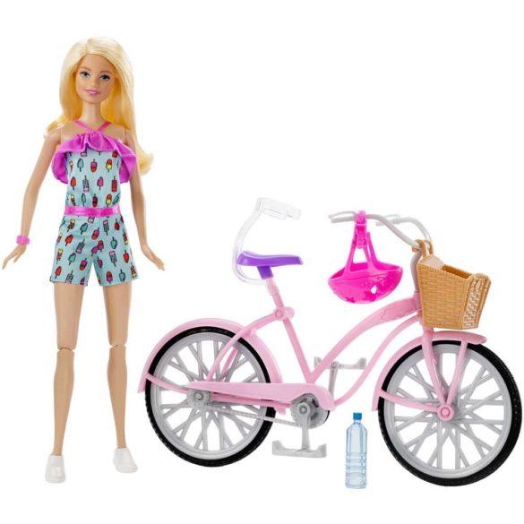 Barbie Glam Bicicleta si Papusa FTV96 6
