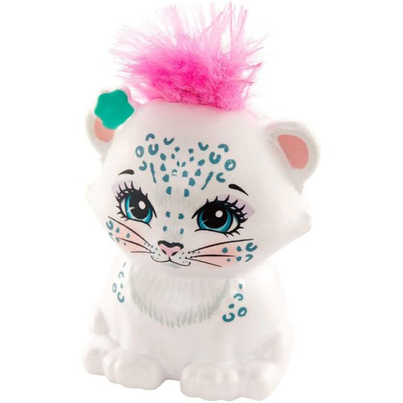Enchantimals Papusa Sybill Snow Leopard Flake 5