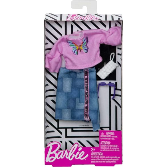 Hainute papusa Barbie Bluzita Roz 2