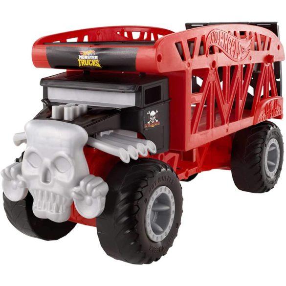 Hot Wheels Masina si Transportator Monster Truck