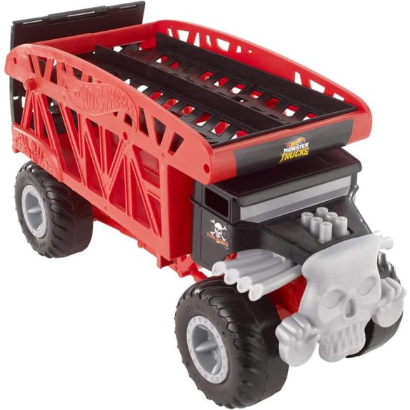Hot Wheels Masina si Transportator Monster Truck 3