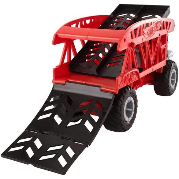 Hot Wheels Masina si Transportator Monster Truck 4