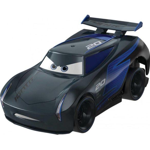 Masinuta Disney Cars Turbostart Jackson Storm, 14 cm