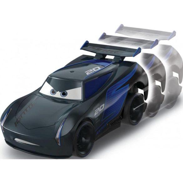 Masinuta Disney Cars Turbostart Jackson Storm 14 cm 4
