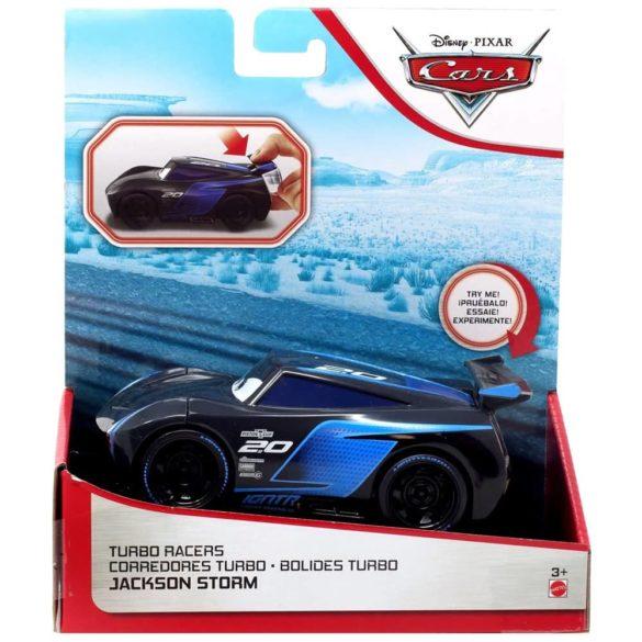 Masinuta Disney Cars Turbostart Jackson Storm 14 cm 6
