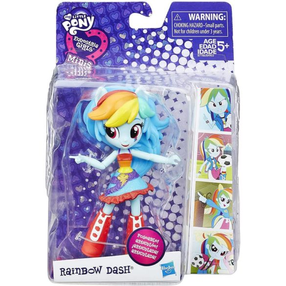 My Little Pony Equestria Girls Minis Figurina Rainbow Dash 2