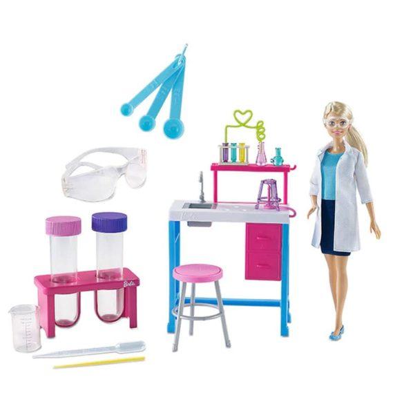 Set de Joaca Barbie Cercetator cu Accesorii si pentru Copii