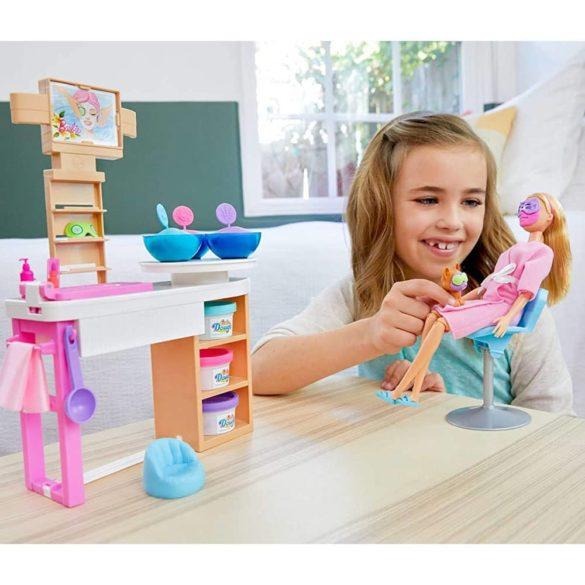 Set de Joaca Barbie o zi la spa cu Masca pentru Fata 2