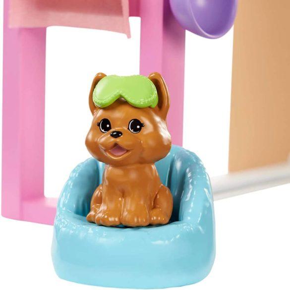 Set de Joaca Barbie o zi la spa cu Masca pentru Fata 6