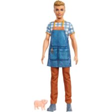 Barbie si Ferma de Vis Papusa Fermier Ken
