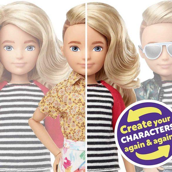 Creatable World Papusa Personalizabila cu Par Blond 3