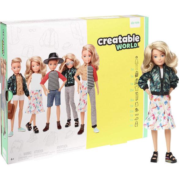 Creatable World Papusa Personalizabila cu Par Blond 6