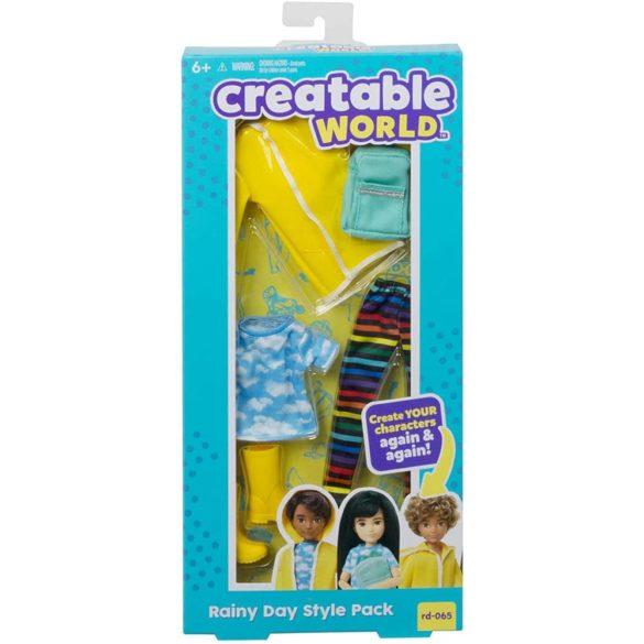 Creatable World Set Vestimentatie O zi Ploioasa 5