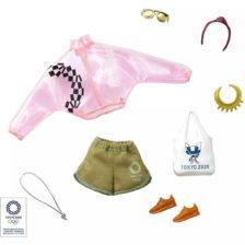 Barbie Pachet Vestimentatie si Accesorii Tokyo 2020 GJG34