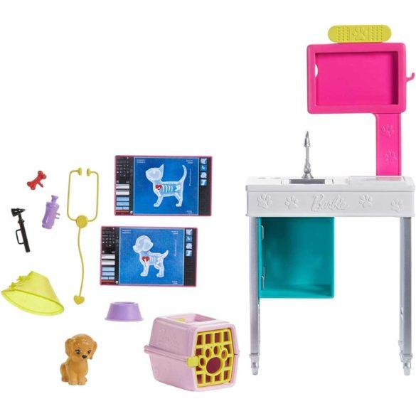 Barbie Set de Joaca Cabinetul Veterinar 5