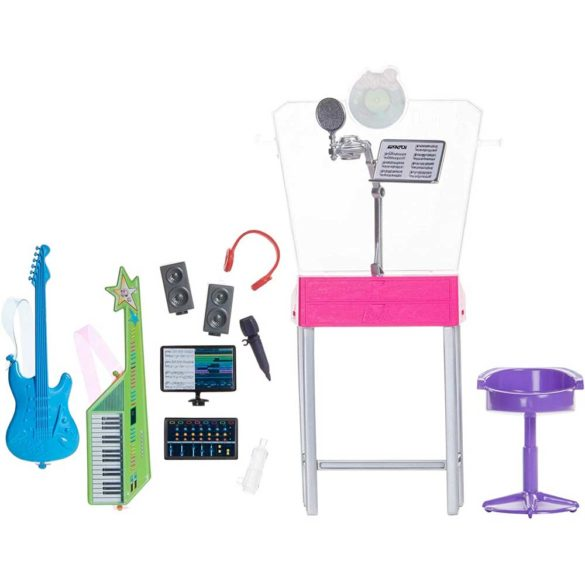 Barbie Set de Joaca Studioul de Inregistrari