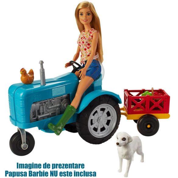 Barbie si Ferma de Vis Setul de Tractor cu Accesorii 2