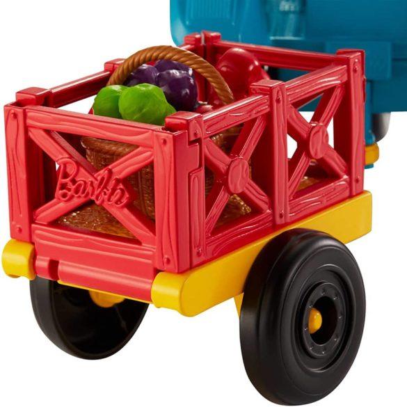 Barbie si Ferma de Vis Setul de Tractor cu Accesorii 4