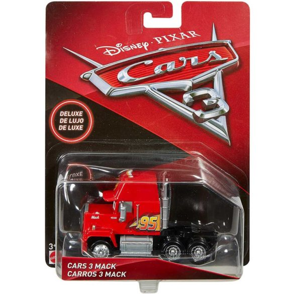 Masinuta Metalica Cars Deluxe Mack 11 cm 6