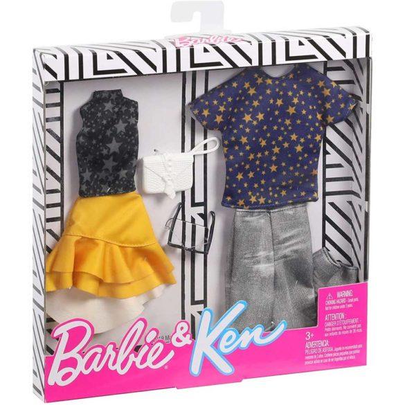 Pachet Vestimentatie Barbie Ken GHX70 3