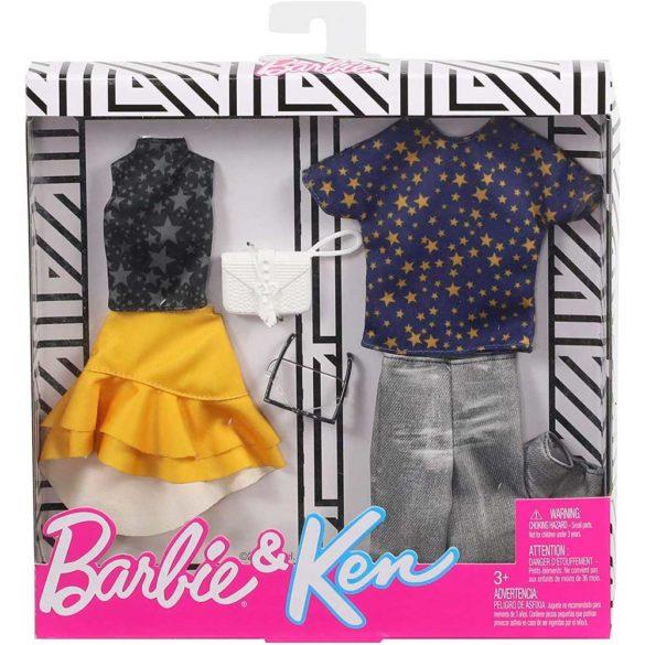 Pachet Vestimentatie Barbie Ken GHX70 4