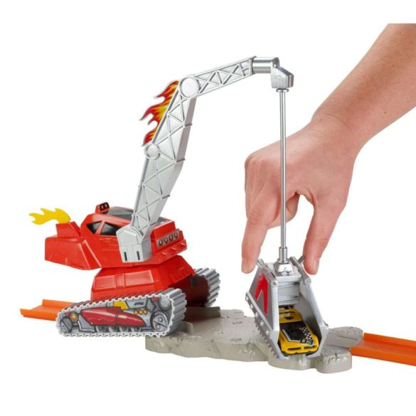Set de Joaca Hot Wheels Crane Crasher 5