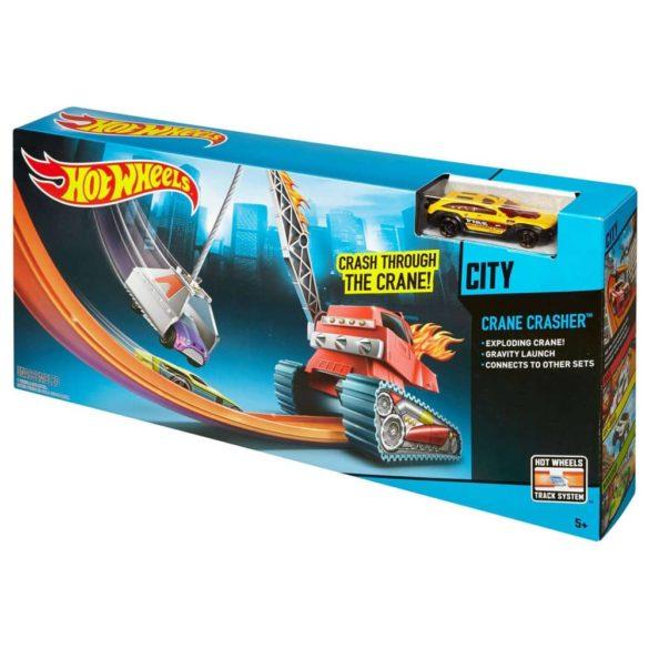 Set de Joaca Hot Wheels Crane Crasher 8