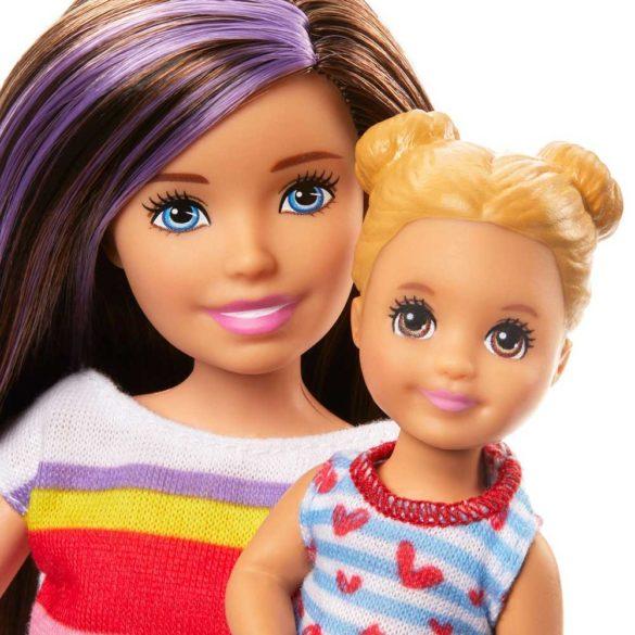 Barbie Skipper Babysitters Papusa si Set de Joaca la Masa 4