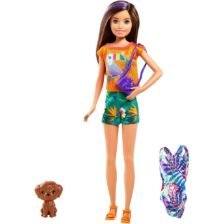 Barbie The Lost Birthday Papusa Skipper cu Accesorii