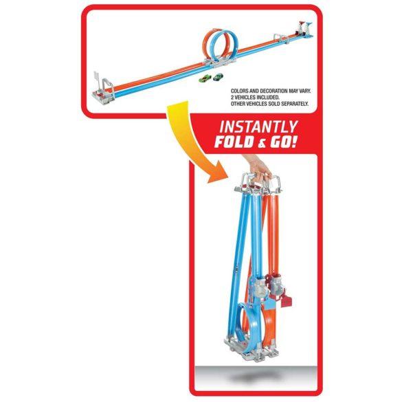 Pista Hot Wheels Double Loop Dash cu 2 Masinute 3