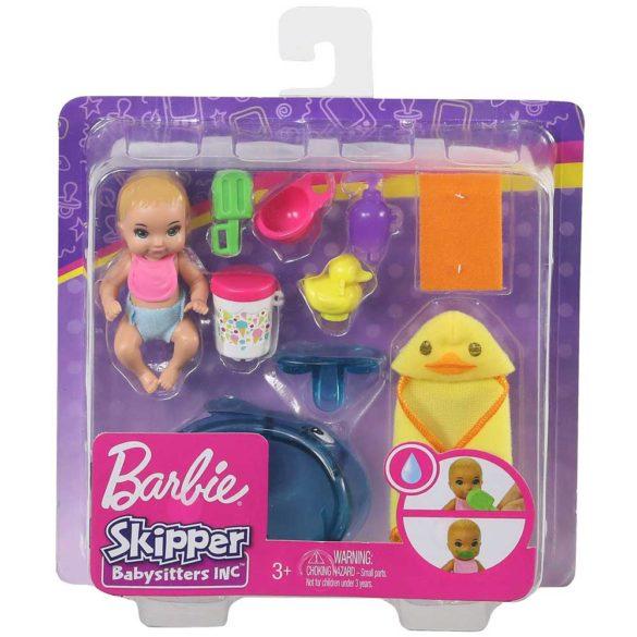 Barbie Babysitters Set de Joaca Baia Bebelusului 5
