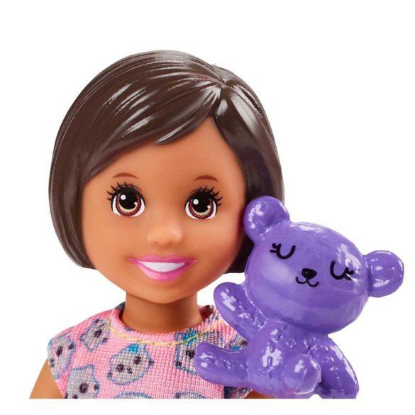 Barbie Babysitters Set de Joaca Petrecere in Pijama 2