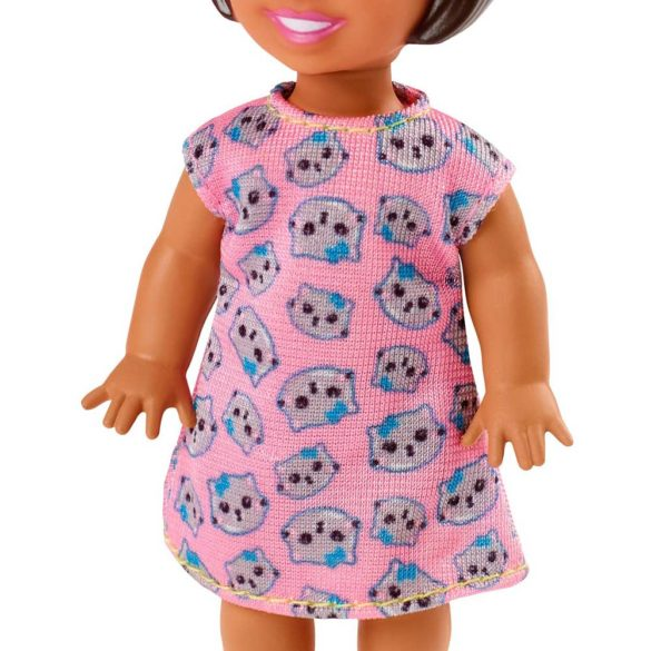 Barbie Babysitters Set de Joaca Petrecere in Pijama 3