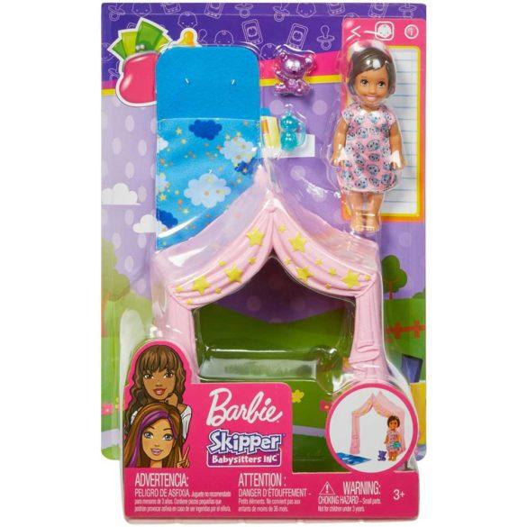Barbie Babysitters Set de Joaca Petrecere in Pijama 5