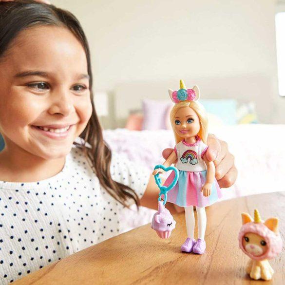 Barbie Club Chelsea Papusa cu Accesorii si Costum Unicorn 2