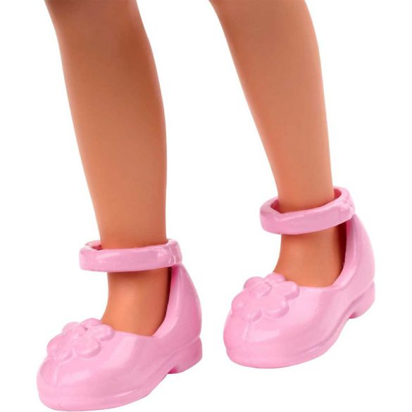 Barbie si Clubul Fluturasilor Papusa cu Fustita Denim 5
