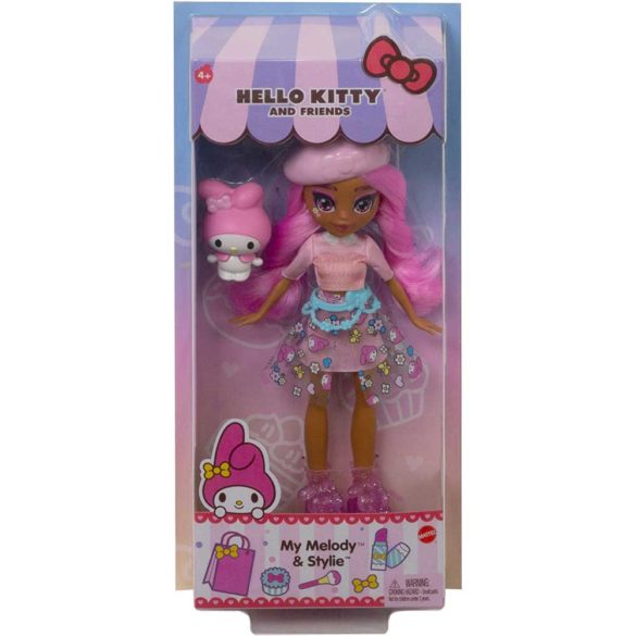 Colectia Hello Kitty Papusa Stylie si Figurina Melody 6