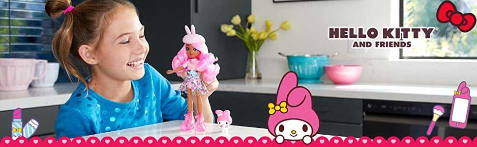 Colectia Hello Kitty Papusa Stylie si Figurina Melody
