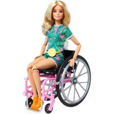 Papusa Barbie Fashionistas #165 Cu Scaun Si Tinuta Tropicala