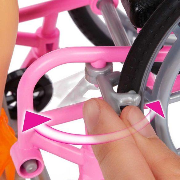 Papusa Barbie Fashionistas 165 Cu Scaun Si Tinuta Tropicala 2