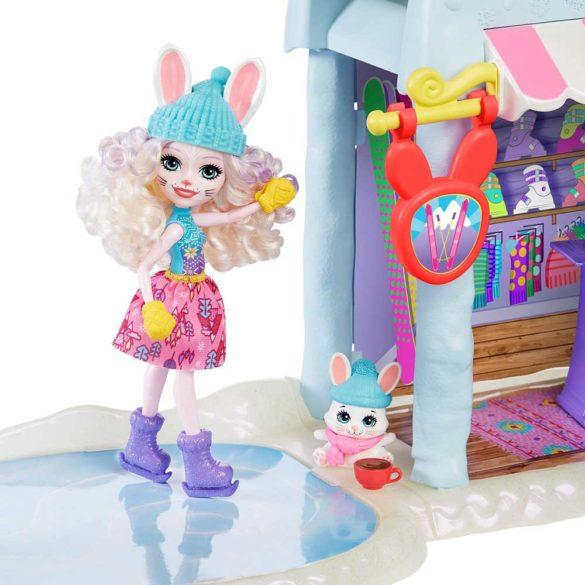 Set Enchantimals Cabana de Schi cu Papusa Bevy Bunny 4