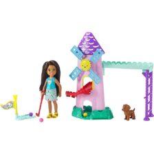Set de joaca Mattel Barbie Chelsea Partida de Golf
