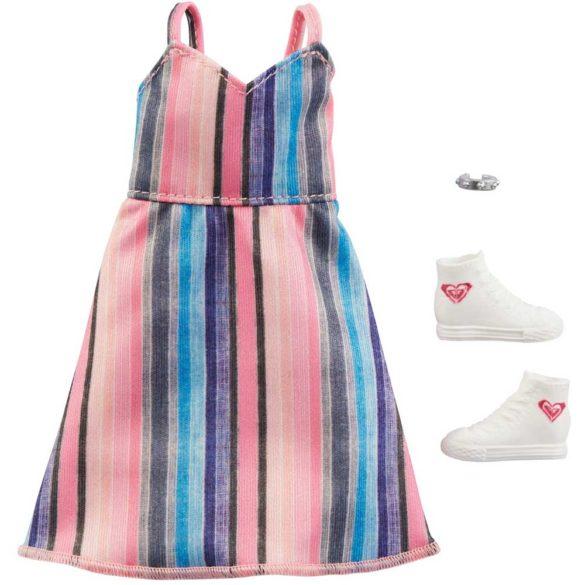 Vestimentatie Completa Barbie Roxy Rochia in Dungi